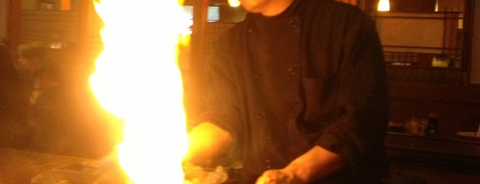 Ichiban Japanese Steakhouse is one of Lugares favoritos de Zach.