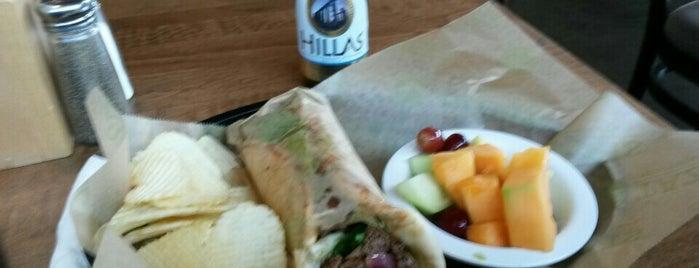 Taziki's Mediterranean Cafe is one of Tempat yang Disukai Glenn.