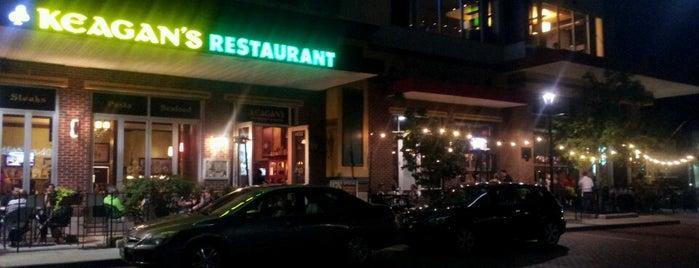 Keagan's Irish Pub & Restaurant is one of สถานที่ที่บันทึกไว้ของ Annie.