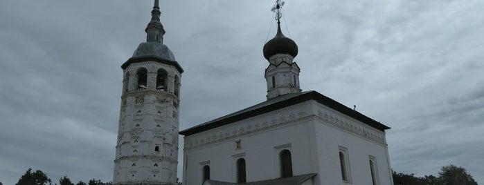 Воскресенская церковь is one of Суздаль.