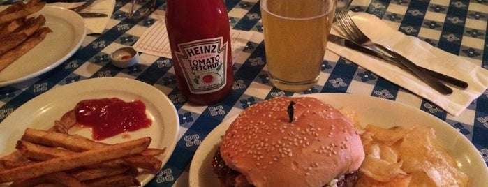 Hugo's Restaurant is one of The Best Burger in Every State.