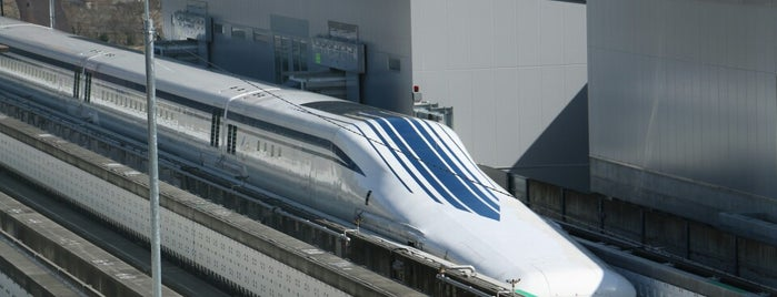Yamanashi Prefectural Maglev Exhibition Center is one of Orte, die ジャック gefallen.