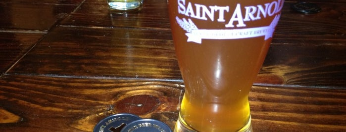 Saint Arnold Brewing Company is one of Houston.