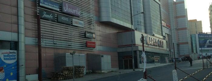 Marka City is one of Lugares favoritos de Mehmet.