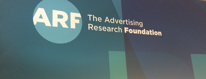 Advertising Research Foundation (ARF) is one of Dave 님이 저장한 장소.