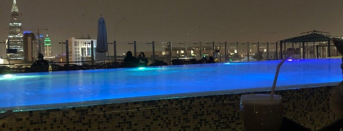 Fraser Hotel Roof Top is one of Riyadh cafes & restaurants.