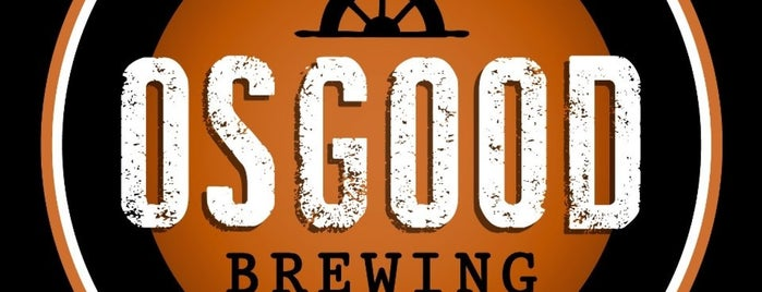Osgood Brewing is one of Grand Rapids.