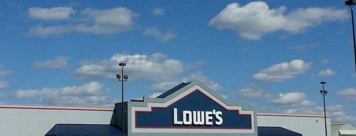 Lowe's is one of Hot Spots.