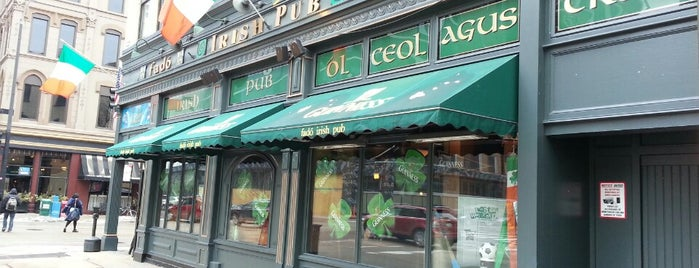 Fado Irish Pub is one of 2014 Alumni Challenge Bars.