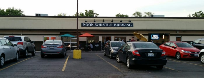 Noon Whistle Brewing is one of Chicago area breweries.