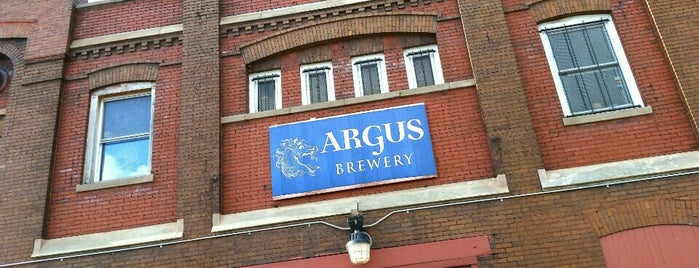Argus Brewery is one of Chicago area breweries.