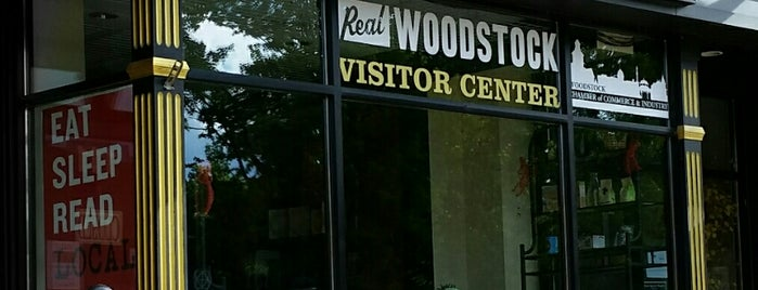 Woodstock Visitor Center is one of Chicagoland.