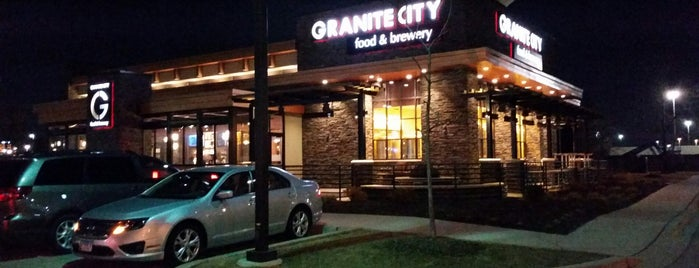 Granite City Food & Brewery is one of Breweries I've Visited.