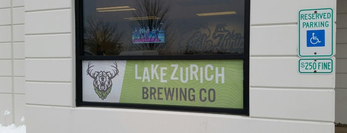 Lake Zurich Brewing Company is one of Chicago area breweries.