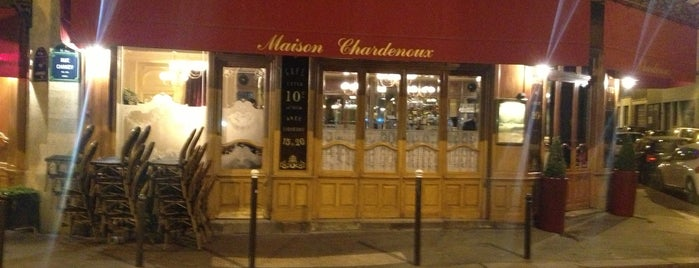 Le Chardenoux is one of Paris.