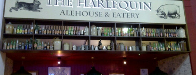 The Harlequin Alehouse & Eatery is one of Бургеры в Лондоне.