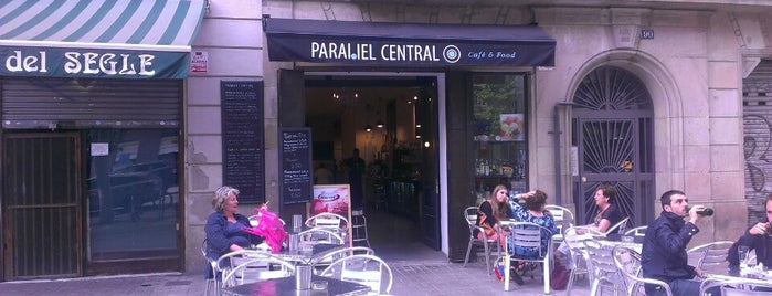 Paral·lel Central is one of Desayuno/Merienda.
