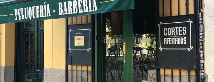 Barberia Chamberi 5 is one of Madrid.