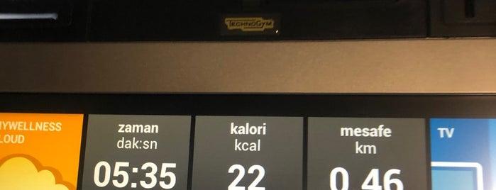 Hitclub Fitness & Spa Hilton İstanbul Kozyatağı is one of Gespeicherte Orte von Yaşar.