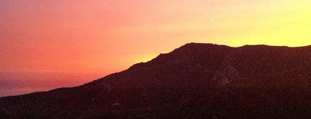 Malibu Hiking Trail is one of LA Haunts.