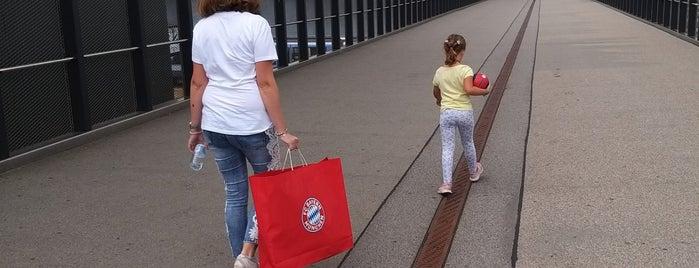 FC Bayern München Megastore is one of Korhan : понравившиеся места.