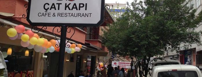 ÇAT KAPI is one of CANTRAINER : понравившиеся места.