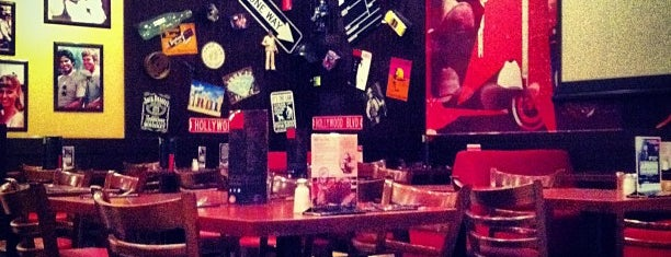 T.G.I. Friday's is one of рестораны.