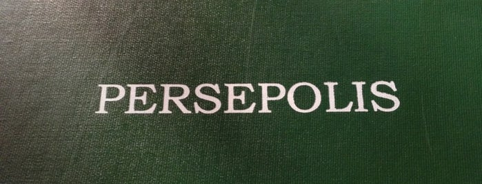 Persepolis is one of RESTAURANTS TO VISIT IN NYC #2 🗽.