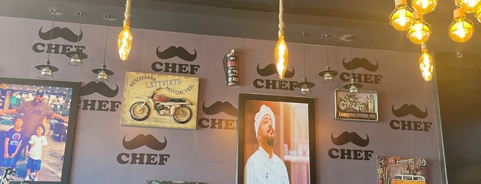 CHEF is one of ابها.