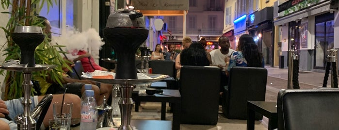 Hookah's club is one of Côte d'Azur.