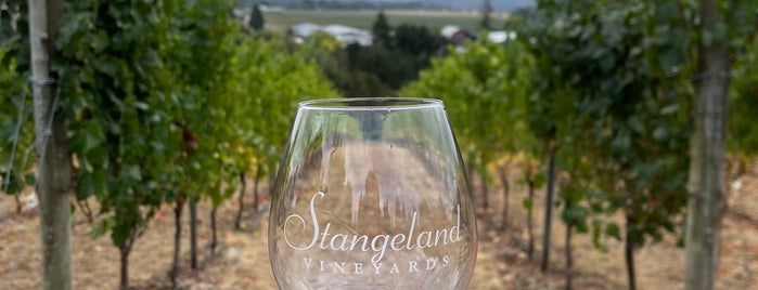 Stangeland Vineyards and Winery is one of Daily Sip Deals.