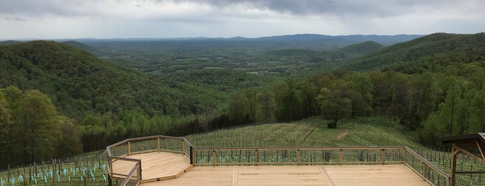 Stone Mountain Vineyards is one of Charlottesville Wineries.