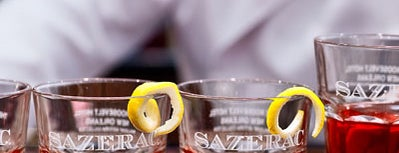 Sazerac Bar is one of uwishunu new orleans.