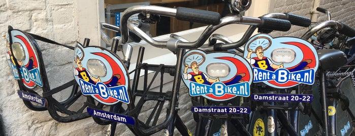 Rent A Bike Damstraat is one of IAmsterdam.