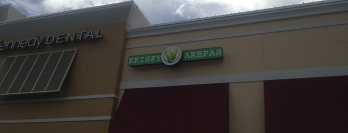 Krispy Arepas is one of Tyroneさんの保存済みスポット.