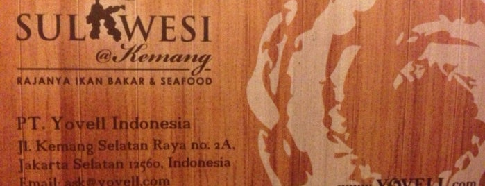 SULAWESI @ Kemang is one of Fatahさんのお気に入りスポット.