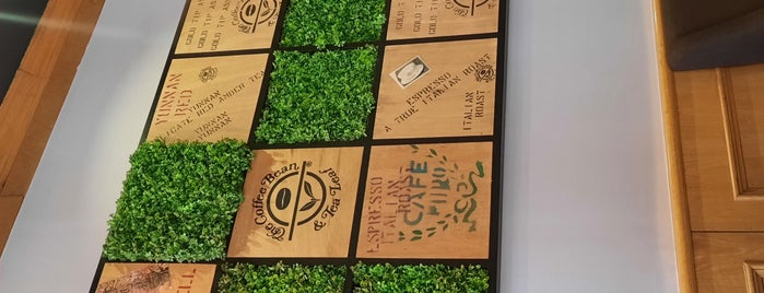 The Coffee Bean & Tea Leaf is one of Jeddah - SAFood.