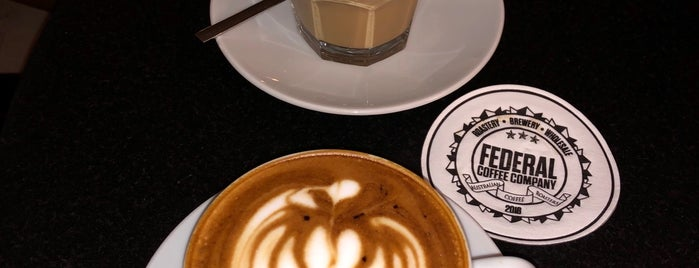 Federal Coffee Plus is one of cafe.