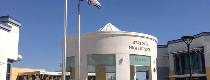 Heritage High School is one of Orte, die Kim gefallen.