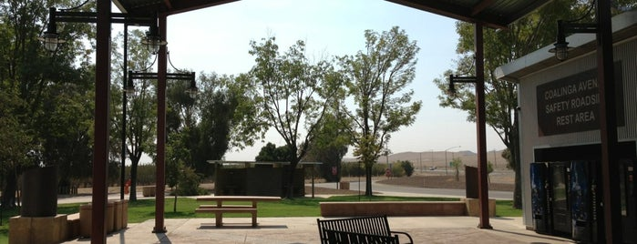 Coalinga Avenal Safety Roadside Rest Area (Northbound) is one of Mo's Liked Places.