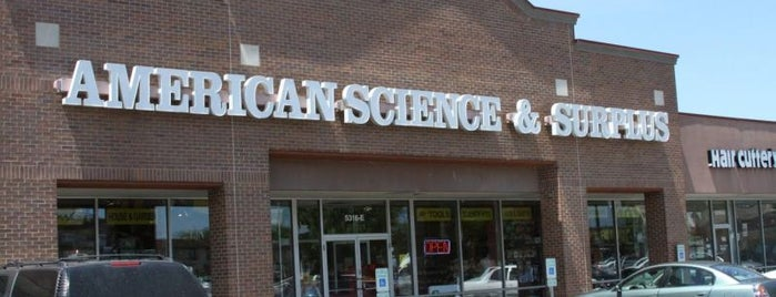 American Science & Surplus is one of Chicago.