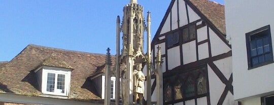 The Butter Cross is one of Winchester, UK.