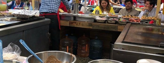 """Quesadillas y Tacos """"Carmelita"""" is one of Mexico City."""