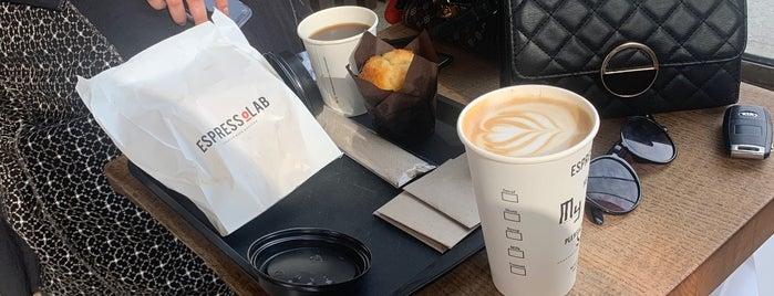 Espresso Lab is one of Tempat yang Disukai Lamya.