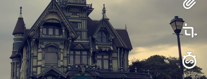 Carson Mansion is one of RV vacation.
