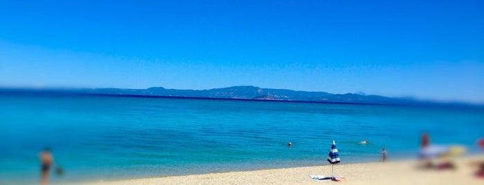Chaniotis Beach is one of Greece 2.