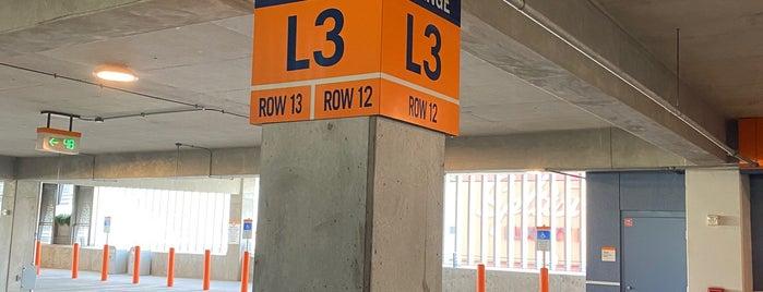 Orange Parking Garage is one of Disney Springs.