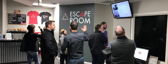 Escape Room is one of Locais curtidos por Anthony.