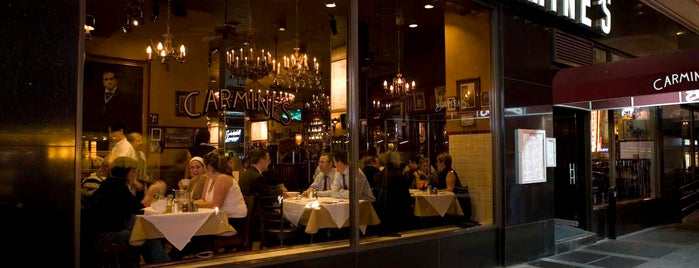 Carmine's Italian Restaurant is one of Restaurants.