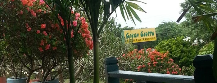 Green Grotto Caves is one of Jamaica Trip.